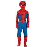 2017 Premiere Marvel Movies Spiderman Home Coming Children Superhero Costume Kids Halloween Party Performance Cosplay Clothing