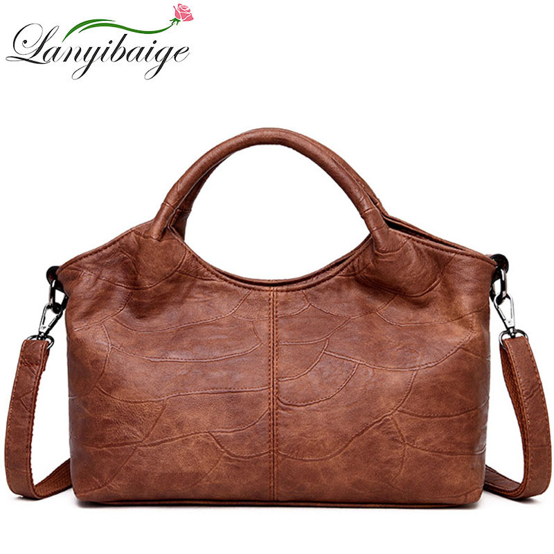 Female Luxury Handbags Women Messenger Bags Ladies Patchwork Leather Shoulder Bag Designer Crossbody Bags For Women 2019 Bolsas