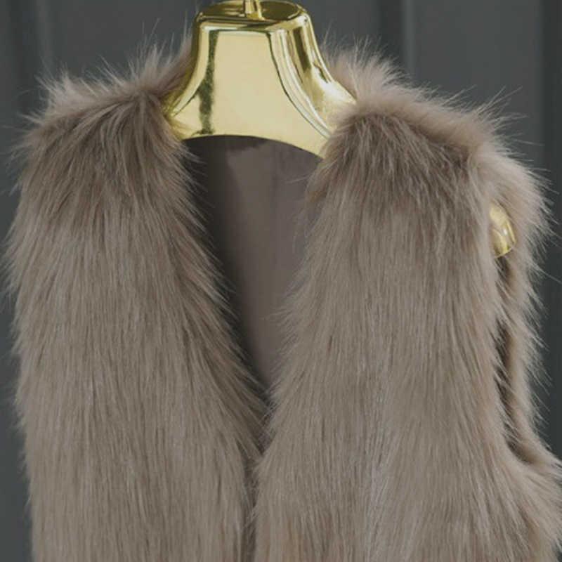 2020 en çok satan bahar vizon taklit kürk yelek rahat sıcak kış ceket ince futerko yumuşak kürk ceket меховые жилет casaco feminin oymak