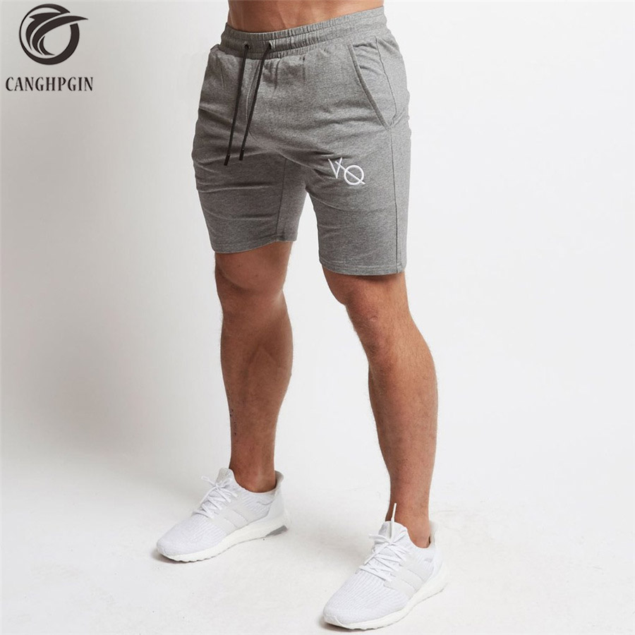 Men Sporting Beaching Shorts Cotton Bodybuilding Sweatpants Summer Breathable Running Sports Short Men GYM Fitness Slim Shorts italian style fashion men s jeans shorts high quality vintage retro designer classical short ripped jeans brand denim shorts men