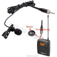 Мини-зажим петличный микрофон всенаправленный конденсаторный Аудио Микрофон для Sennheiser G1 G2 G3 G4 беспроводной передатчик