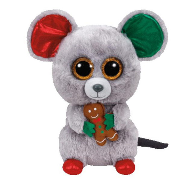 2018 Ty Beanie Boos Mac The Tricky And Sneaky Little Mouse