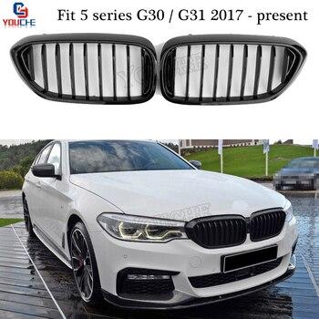 G30 Replacement Front Bumper Grille Mesh Kidney Grill for BMW G30 G31 Sedan Hatchback 520i 528i 530i 535i F90 M5