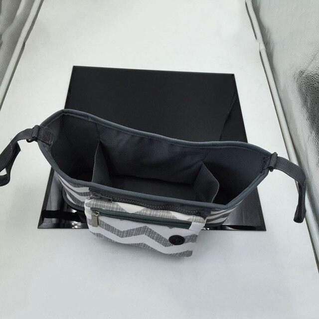 Pushchair Baby Accessories Bag Changing Pram Stroller organizer Buggy Storage Pushchair Bottle Cup Organizer Bag cart 2
