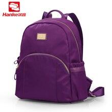 Ханке мода рюкзак Для женщин школьный рюкзак для отдыха нейлон дамы рюкзак IPAD Дорожные сумки для Обувь для девочек