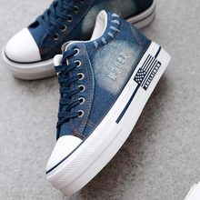 Women Shoes 2020 Sneaker Denim Canvas Shoes