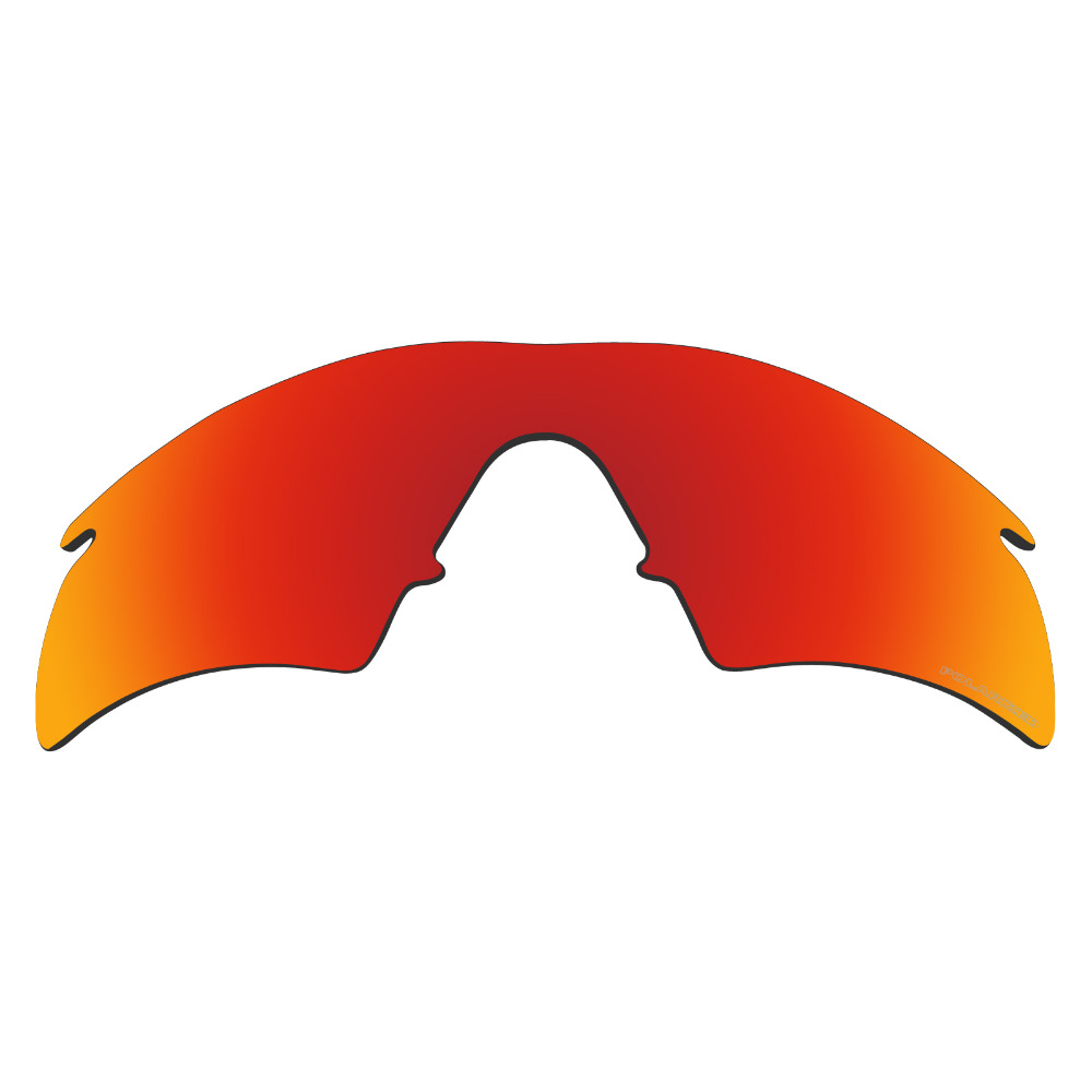 HKUCO Plus Mens Replacement Lenses For Oakley M Frame Sweep Sunglasses Red Polarized