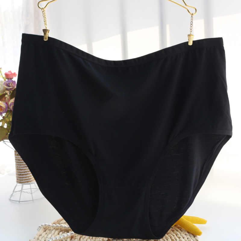 Baru Kedatangan Ropa Interior Femenina Plus Ukuran 7XL Tinggi Pinggang Tipis Super Besar Ibu Lembut Celana Celana Dalam Wanita Celana Dalam Wanita