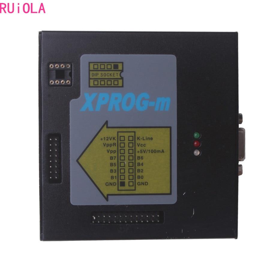 Цена за Xprog М V5.3 плюс XPROG ЭКЮ программист инструмент Основной блок для продажи без адаптеров
