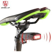 Bike Lights New Rear Light Led Intelligent Alarm Bicycle Taillights Waterproof COB USB Rechargeable Smart