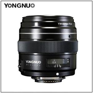 Image 1 - YONGNUO 100 มม.YN100mm F2Nขนาดใหญ่AF/MF Medium Telephoto Primeเลนส์สำหรับNikon D7200 D7100 D7000 D5600 d5300 D3400 D3100