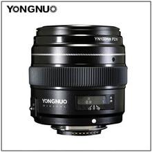 YONGNUO 100 مللي متر YN100mm F2N فتحة كبيرة AF/MF المتوسطة تليفوتوغرافي رئيس عدسات لنيكون D7200 D7100 D7000 D5600 D5300 d3400 d3100