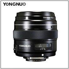 YONGNUO lente de telefoto principal mediana AF/MF de gran apertura, 100MM, YN100mm, F2N, para Nikon D7200, D7100, D7000, D5600, D5300, d3400, d3100