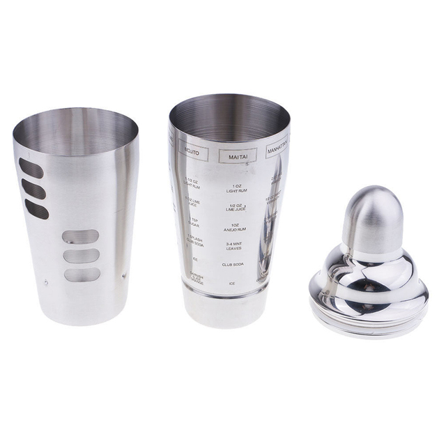 Bartender Double-Decked Cocktail Shaker