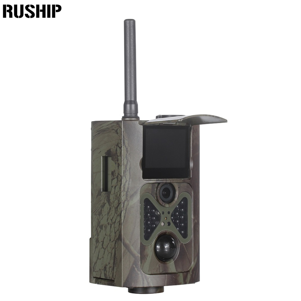 Suntek HC500G Hunting Camera 3G GPRS MMS SMTP/SMS 12MP 1080P Wildlife Trail Camera HC500G waterproof IP54 Free Shipping hot hd12mp 36 black ir led mms outdoor waterproof trail huntingcamera for suntek hc 300m safety iron boxes free shipping