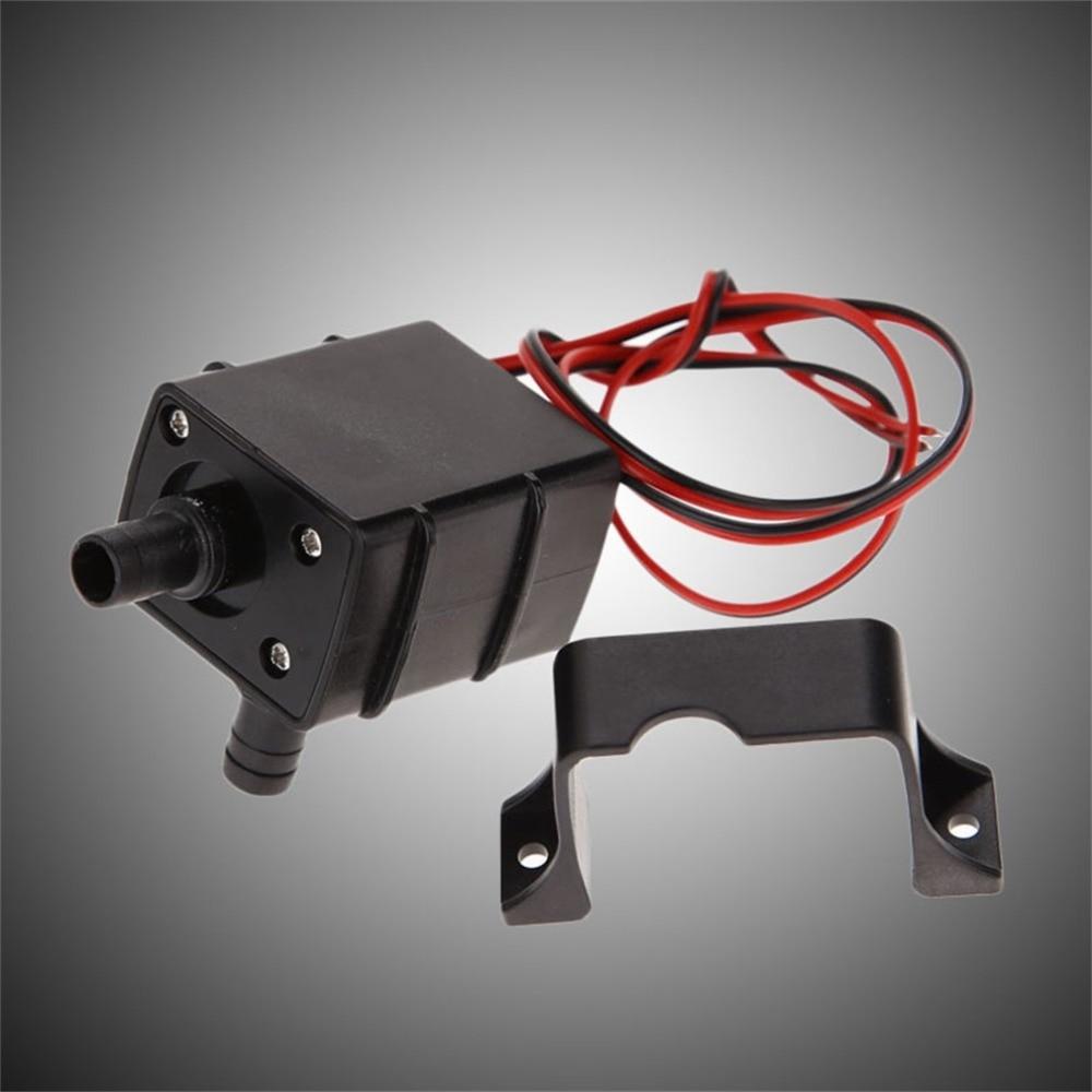 2017 Newest Genuine DC Water pump 240L/H 12V Mini Ultra Quiet Black Pump