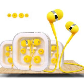 Cute Colourful In-ear Earphones
