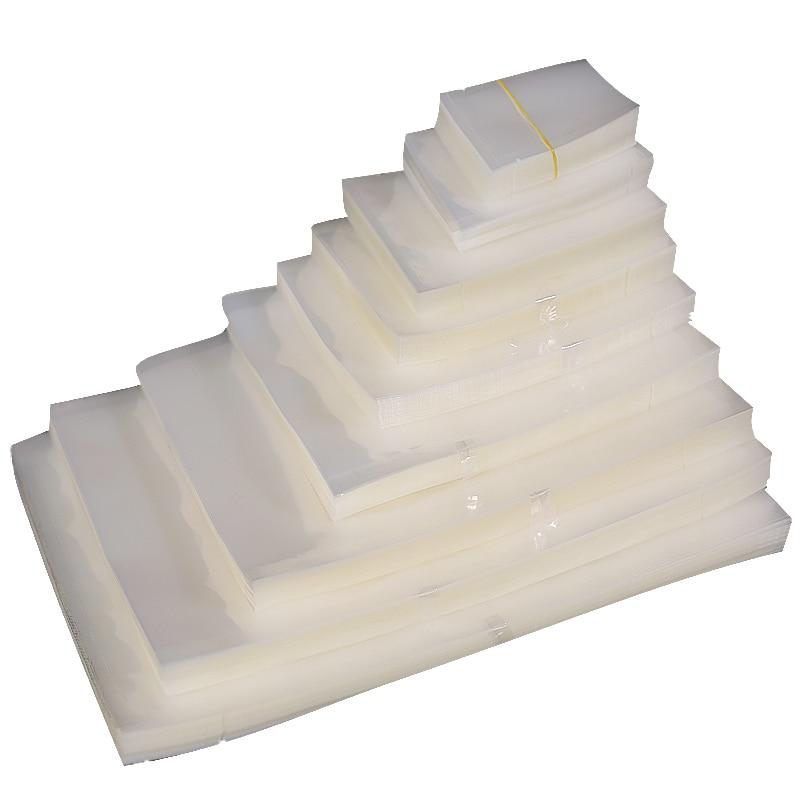 100pcs/lot 7*10cm Sealing Packing Bags Food Grade Sealing Machines Bags Vacuum Storage Food Fresh Keeping Good Quality