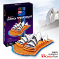 Candice guo! Hot sale 3D puzzle architectural 3D paper model jigsaw game Sydney Opera House