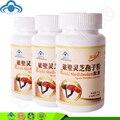 3 botellas/lot Hongo reishi Concha rota ganoderma lucidum polvo de esporas cápsulas envío libre