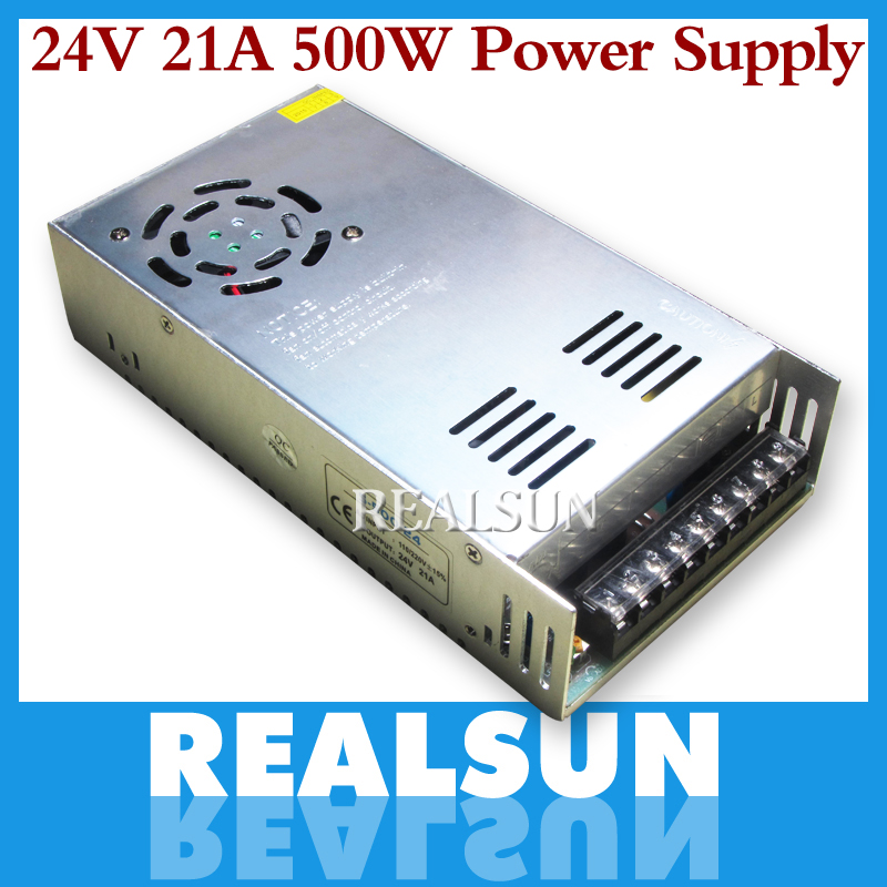 10pcs lot New 24V 20A 480W Switching Power Supply Driver Switching For LED Strip Light Display
