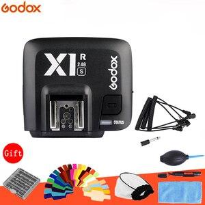 Image 1 - GODOX X1R S TTL 2.4 جرام 1/8000 ثانية HSS اللاسلكية فلاش استقبال لسوني A58 A7RII A7II A99 A7R a6300 X1T S Xpro S الزناد الارسال