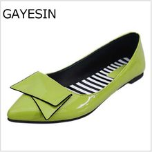 2018 NEW Leather Flat Shoes pointed toe With low Woman Loafers Spring  Casual Shoes Women Flats Women Shoes mocasines mujer D1 8632f9bb0db4