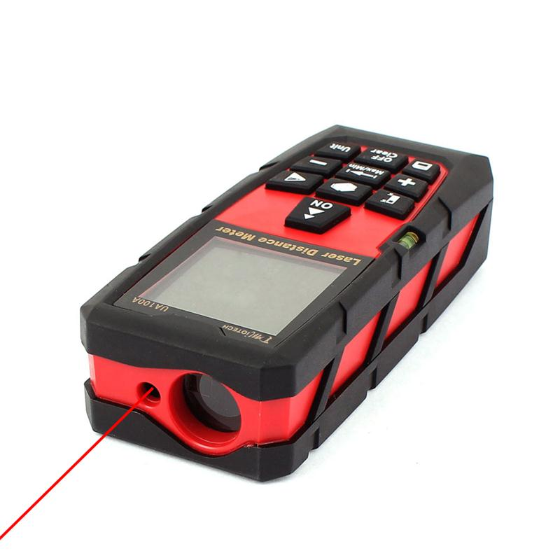 100m/328ft Mini Laser Digital Distance Meter Rangefinder Measure Tape Diastimeter Laser Rangefinder Electrical Instruments цена