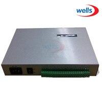 T-300K T300K SD Karte online ÜBER PC RGB Voll farbe led pixel modul controller 8 ports 8192 pixel ws2811 ws2801
