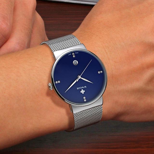 Brand Luxury Men Watches Men Quartz Date Ultra Thin Clock Male Waterproof Sports Watch Gold Casual Wrist Watch relogio masculino