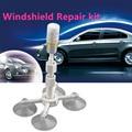 car styling Professional DIY Auto Glass Windscreen Repair Tools Set Car Windshield Rock Chip Repair tool Kits