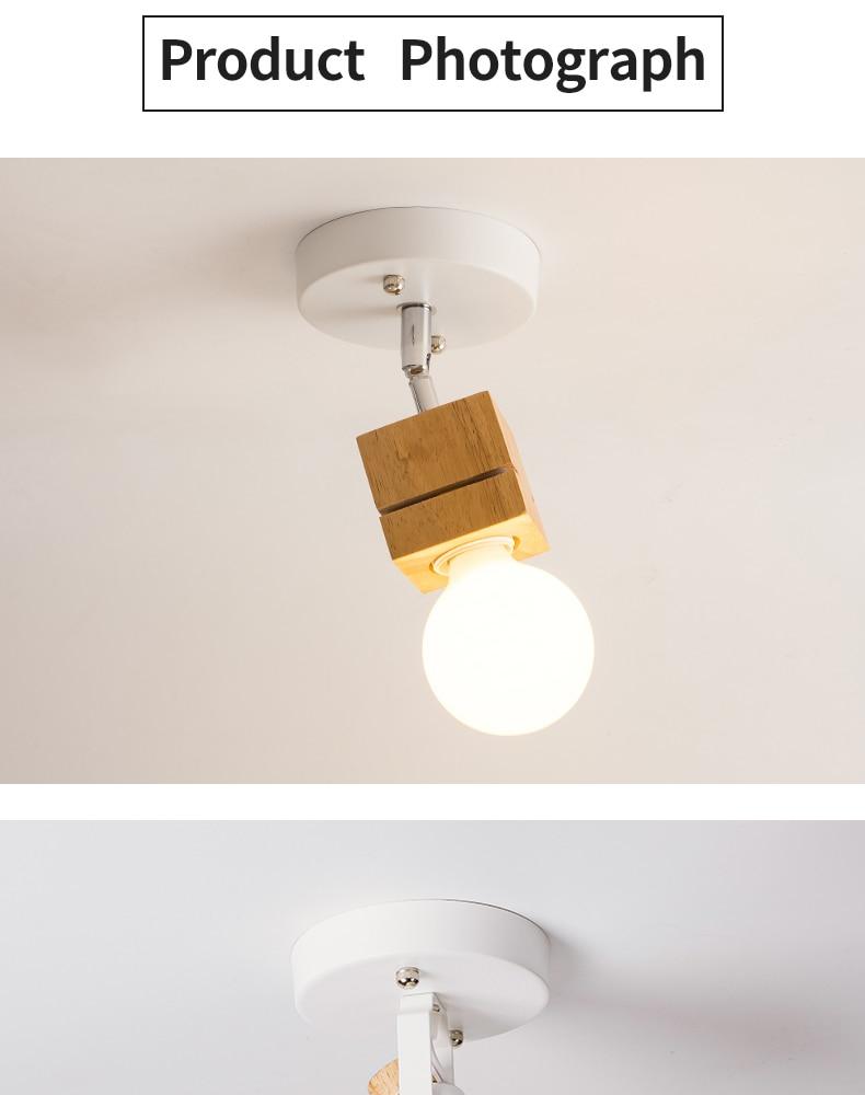 HTB1wHj0XgaH3KVjSZFpq6zhKpXa6 EL LED Ceiling Light Iron Wood Nordic Modern Ceiling Lamp for Living Room Bedroom Decoration Fixture Corridor Kitchen