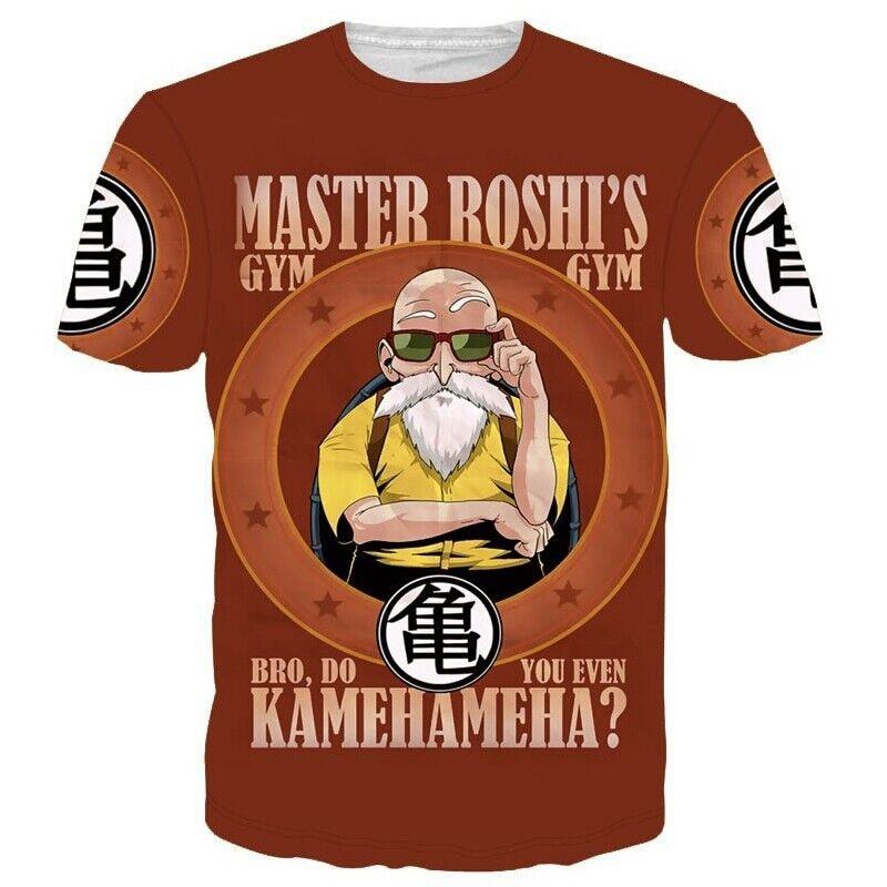 CFYH 2018 NEW Harajuk Dragon Ball Z Super Saiyan Goku Zamasu Dragonball t shirt 3D Print T-shirt Unisex Tee