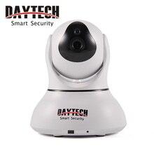 Daytech Cámara IP WiFi Seguridad Para el Hogar Cámara de Infrarrojos de Visión Nocturna Cámara de Detección de Movimiento de Dos Vías de Intercomunicación Bebé DT-C8817