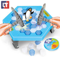 Penguin Trap Funny Game Interactive On Ice Breaking Table Educational Science Magwisdom Practical Jokes Antistress Baby