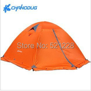 2016 Hot Sale 3 Persons Double Layers Aluminum Alloy Pole Outdoor Camping Beach Fishing Tents in Top Quality on Sale/ Wholesale fulang aluminium alloy fishing rotatable umbrella heat protection double layers 2m r35