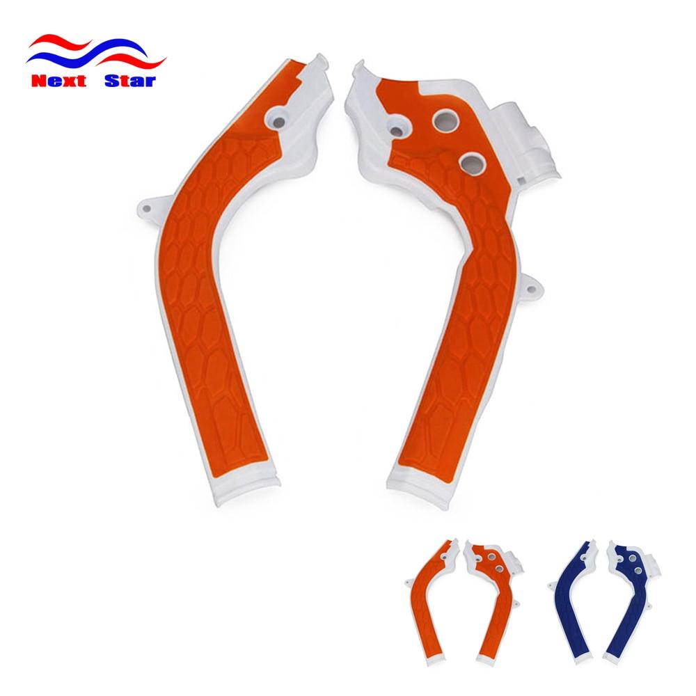 CAKEN Motociklų rėmo apsauga Apsauginis dangtelis KTM SX125 SX250 XCF250 SXF250 XCF