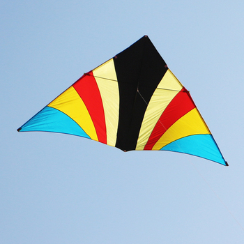 цена на free shipping high quality 2sq.m delta kite gently wind fly with handle sky dragon cometa pipa wangkuazi wei kite factory linha