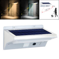 enjoydeal 21LED Wall Lamp 3 Mode Solar Sensor PIR Motion Activated Waterproof Light Wall Lamp Energy saving For Outdoor Garden