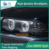 JGD Brand New Styling for BMW E38 728 730 735 740 750 LED Headlight 1998 2002 Headlight Bi Xenon Head Lamp LED DRL Car Lights