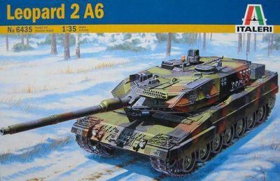 ФОТО Out of print! Italeri 1/35 Leopard 2 A6 German Tank Kit # 6435