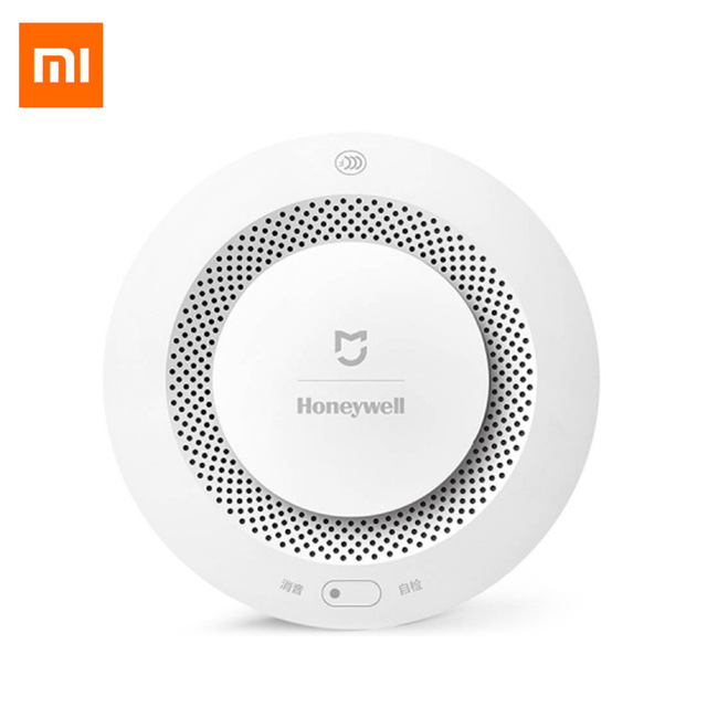 Original Xiaomi Mijia Honeywell Fire Alarm Detector Photoelectric Smoke Sensor Aqara Zigbee Remote Control with Mihome