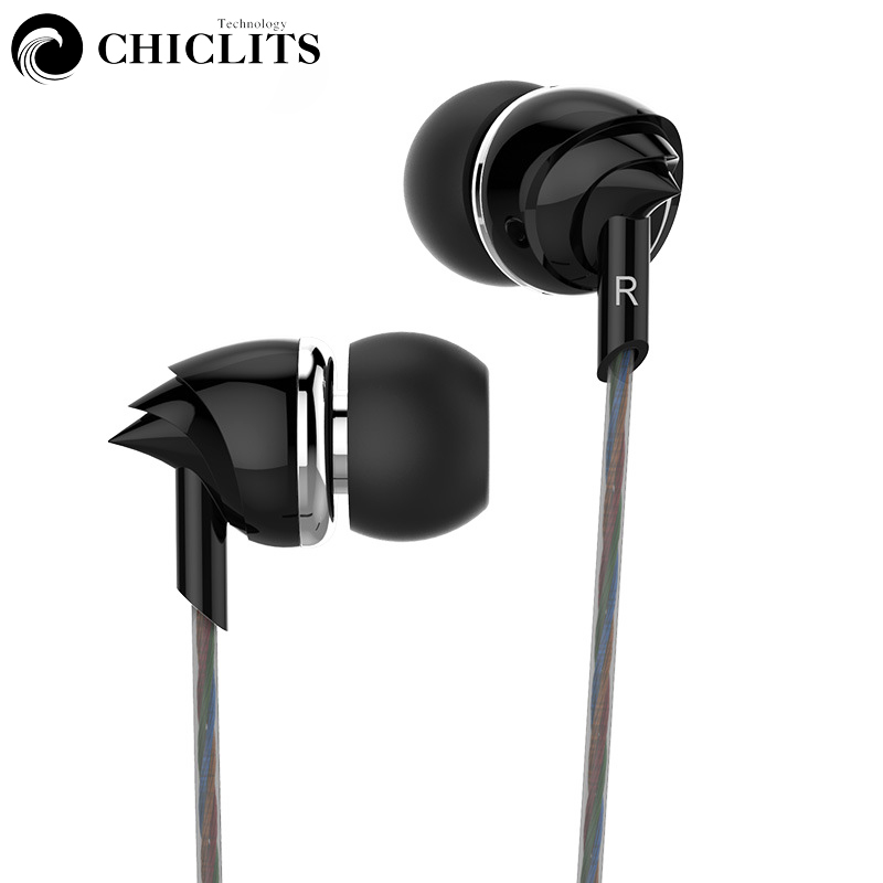 Chiclits in-ear Earphone New Sport Headset Stereo Heavy Bass Fashion Conch Shape Earbuds 3.5MM for Mobile Phone PC Gaming