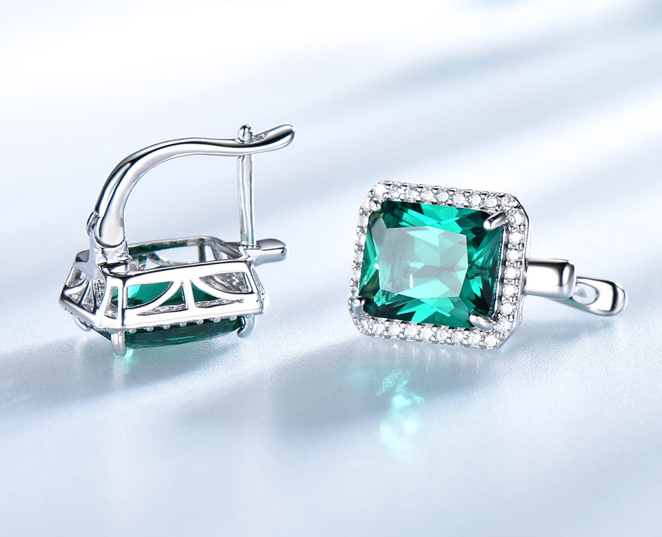 -Emerald-925-sterling-silver-clip-earrings-for-women-EUJ082E-1-PC_05