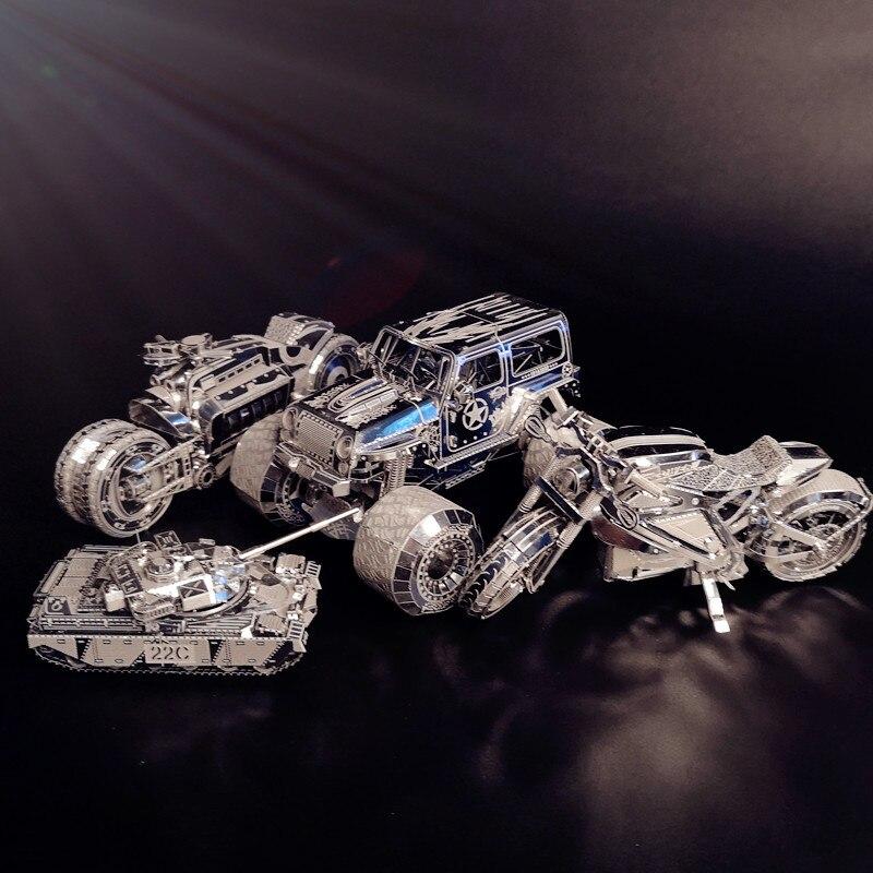 HK NANYUAN F22202T Royal Transport Japonais Makeing 2D À 3D 2 Feuilles D'or Métal modèle d'assemblage de Puzzle jouets BRICOLAGE Créatif