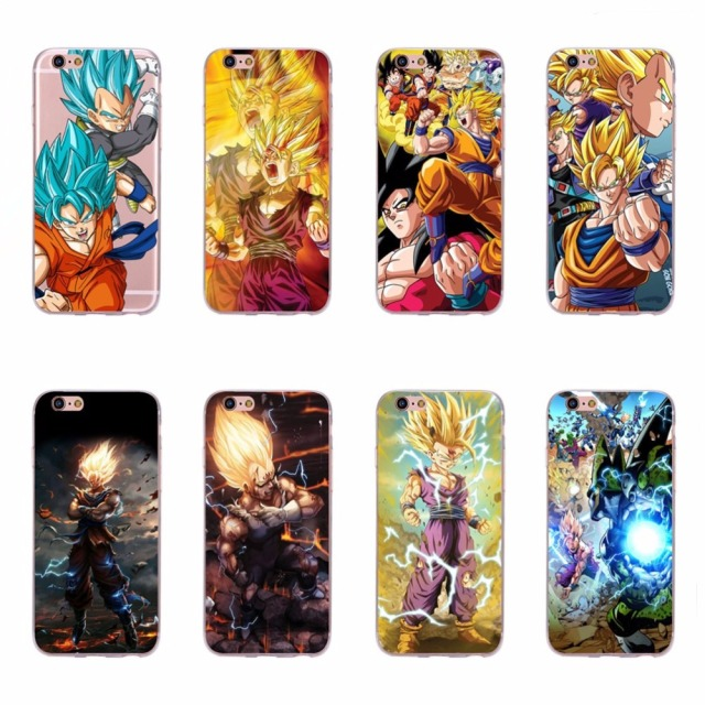 coque souple iphone 6 dragon ball