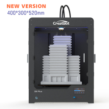 CreatBot Printer 3D DEPlus Dual Extruder 400*300*520 mm Large Build Size Metal Nozzle high quality 3d printer