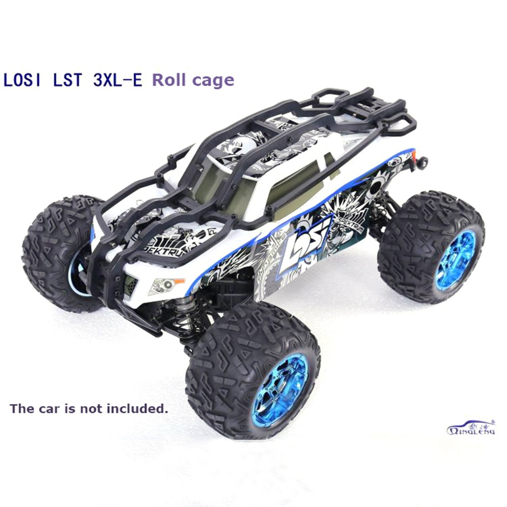 XBERSTAR  Nylon Roll Cage body protection Shell vehicle frame for LOSI LST 3XL-E 3XL Rc Car PartsXBERSTAR  Nylon Roll Cage body protection Shell vehicle frame for LOSI LST 3XL-E 3XL Rc Car Parts