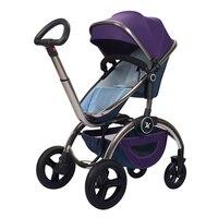 High Landscape Baby Stroller, Poussette, Kinderwagen, Baby Pram, Children Trolley, Folding Baby Carriage