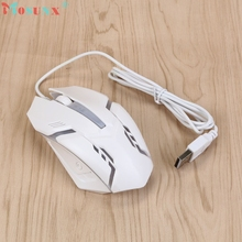 X7 For PC Laptop 1600 DPI USB Wired Optical Gaming Mice Luminous Mouses _KXL0224 computer accessories